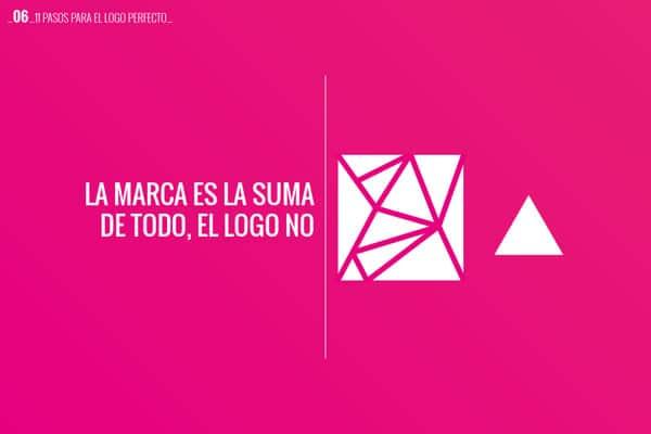 06 la marca es la suma de todo, el logo no