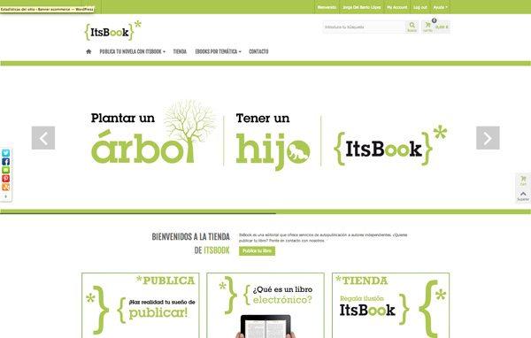 Editorial ItsBook sin mostrar el megamenú