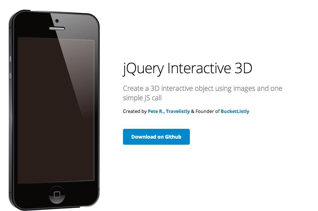 Insertar objetos interactivos en 3d en tu web con jquery