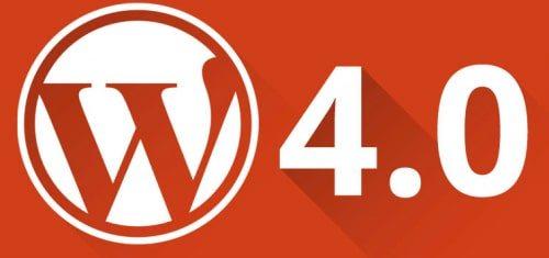 WordPress 4.0 ya está disponible