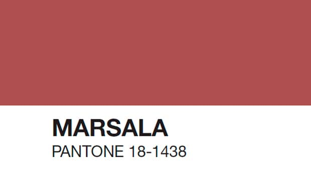 Pantone revela el Color del Año 2015: PANTONE 18-1438 Marsala